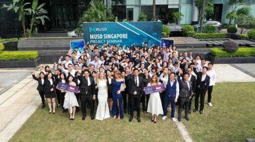 新加坡MUSO创世联盟合照