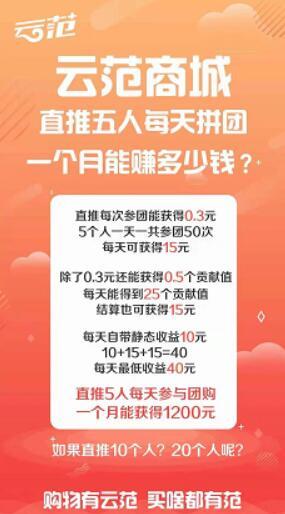 云范商城拼团是什么,赚钱靠谱吗(2)